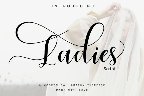 Print on Demand: Ladies Script & Handwritten Font By Moly Mol