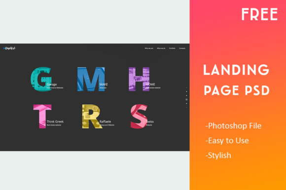 Landing Page Template Graphic Landing Page Templates By Creative Fabrica Freebies - Image 4