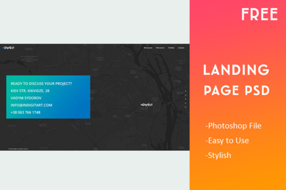 Landing Page Template Graphic Landing Page Templates By Creative Fabrica Freebies - Image 6