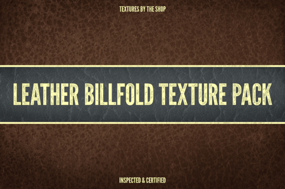 Leather Billfold Texture Pack Graphic Textures By theshopdesignstudio - Image 1