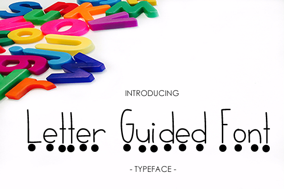 Print on Demand: Letter Guided Script & Handwritten Font By yh.seaofknowledge