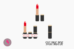 Download Free Lipstick Make Up Fashion Graphic By Pinoyartkreatib Creative for Cricut Explore, Silhouette and other cutting machines.