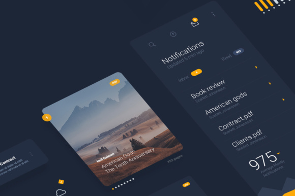 Liquid Pro UI Sketch Kit Graphic UX and UI Kits By Creative Fabrica Freebies - Image 2