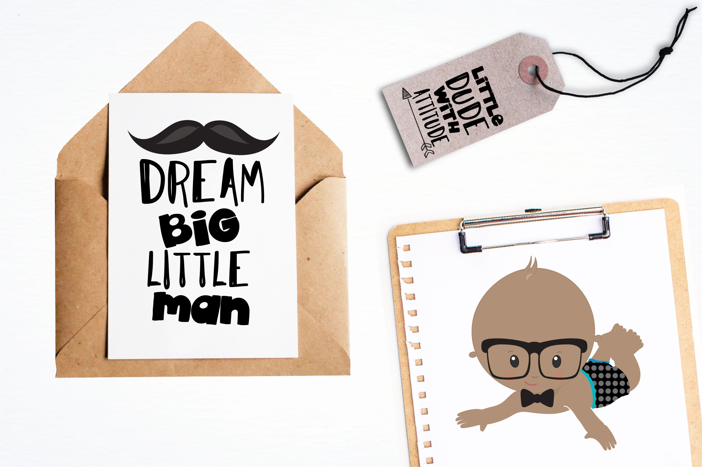Download Free Little Man Graphic By Prettygrafik Creative Fabrica for Cricut Explore, Silhouette and other cutting machines.