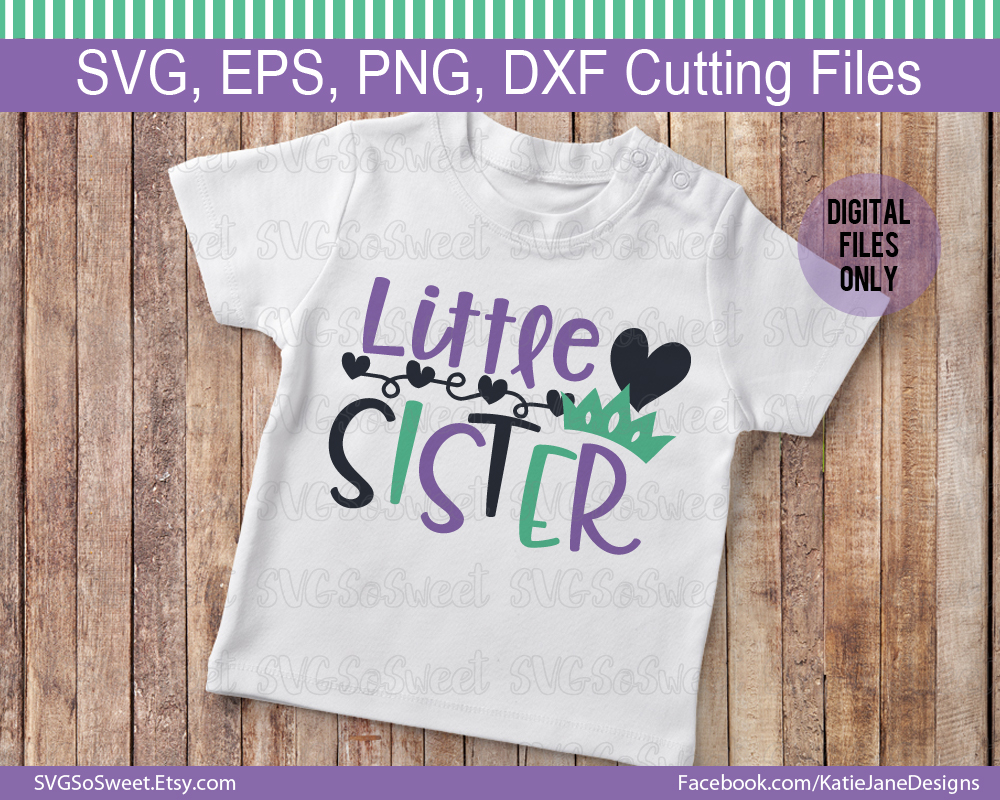 Little Sister Big Sister SVG Bundle