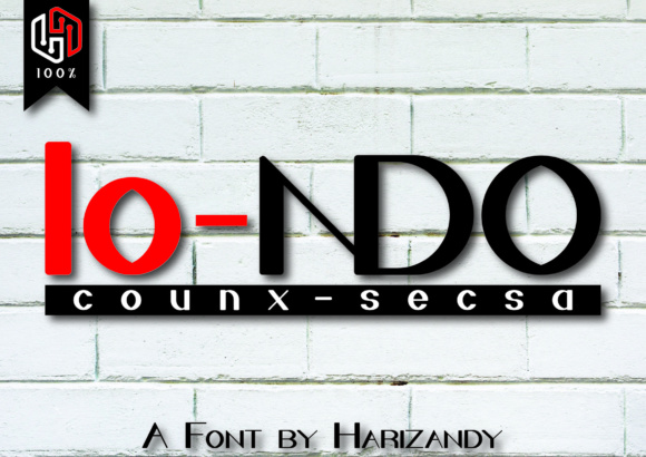 Print on Demand: Londo Sans Serif Font By harizandy