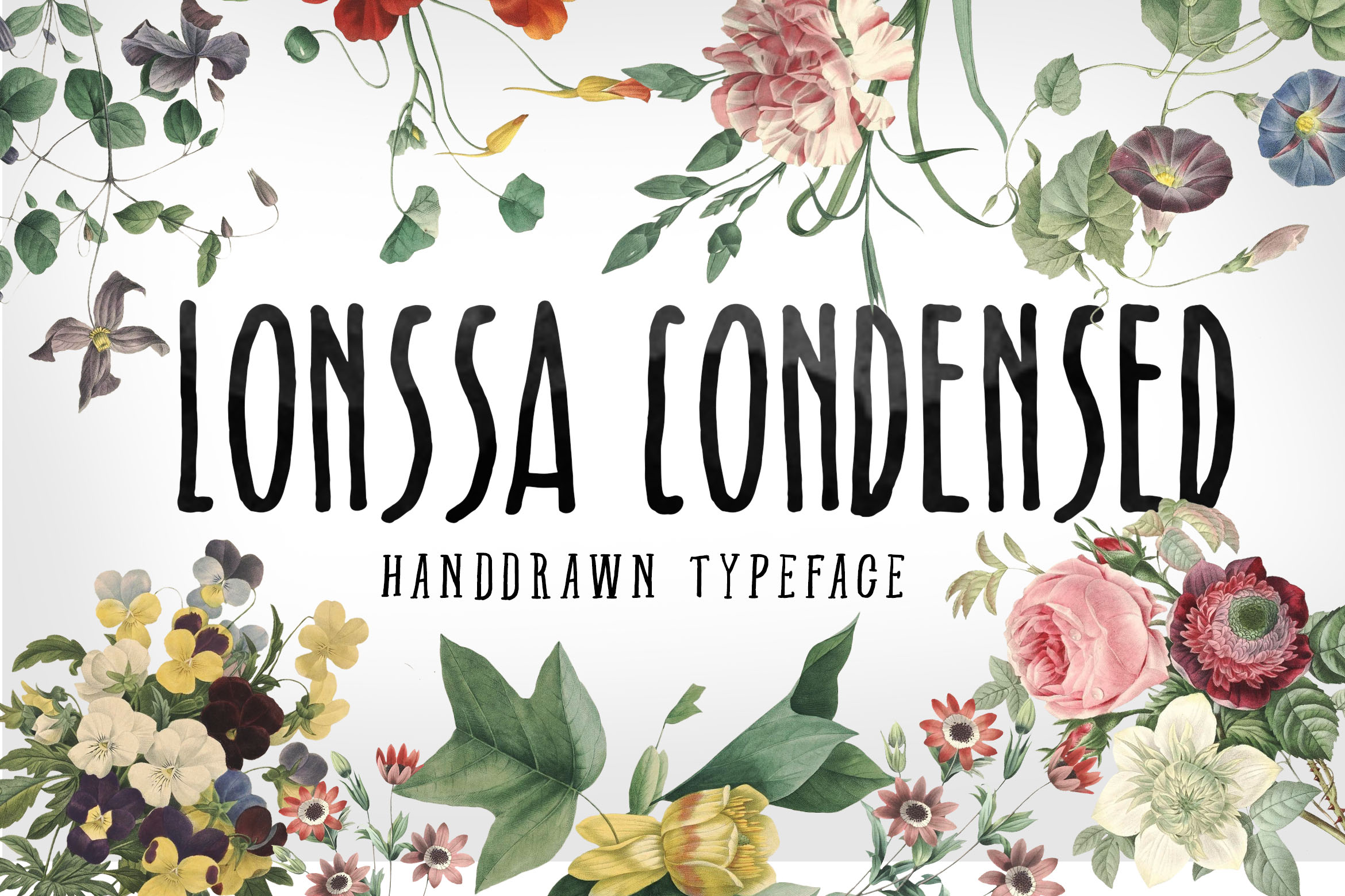 Print on Demand: Lonssa Condensed Sans Serif Font By storictype