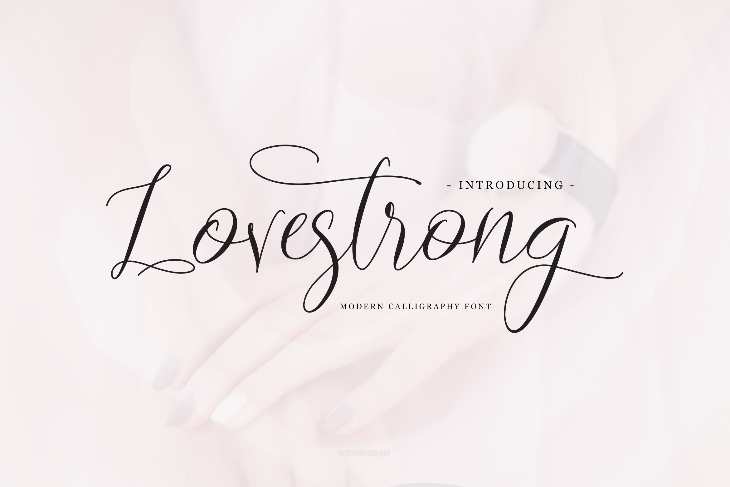 Print on Demand: Lovestrong Script & Handwritten Font By rometheme - Image 1