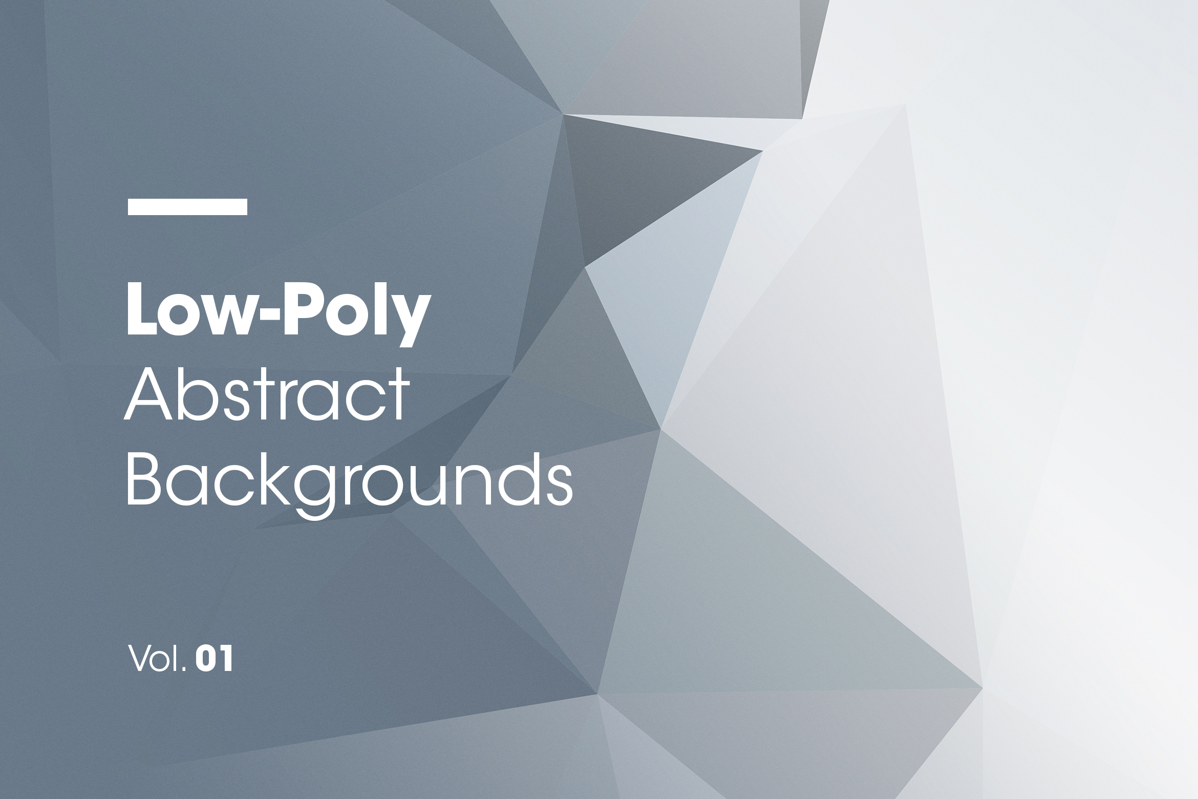 Low-Poly | Abstract Backgrounds | Vol. 01 Graphic By dvtchk