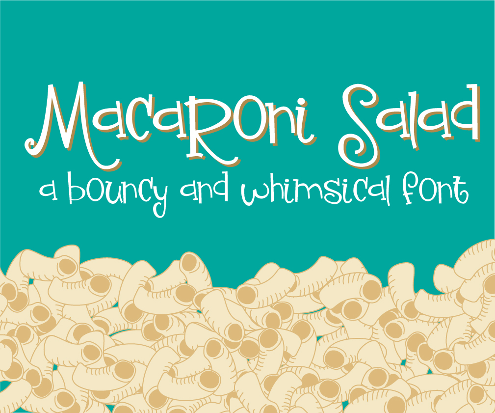 Print on Demand: Macaroni Salad Script & Handwritten Font By Illustration Ink