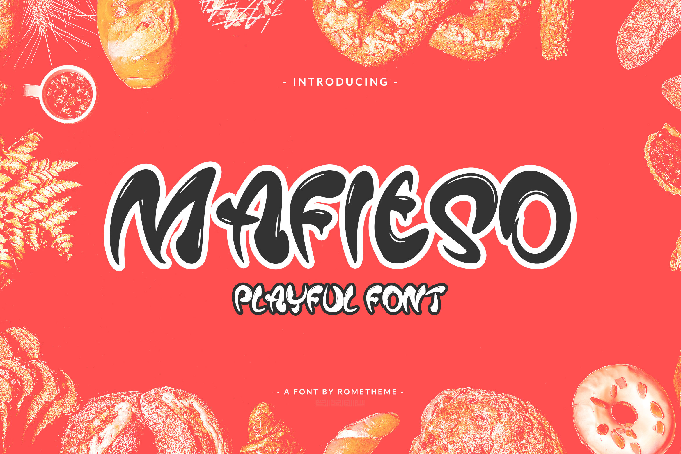Print on Demand: Mafieso Display Font By rometheme
