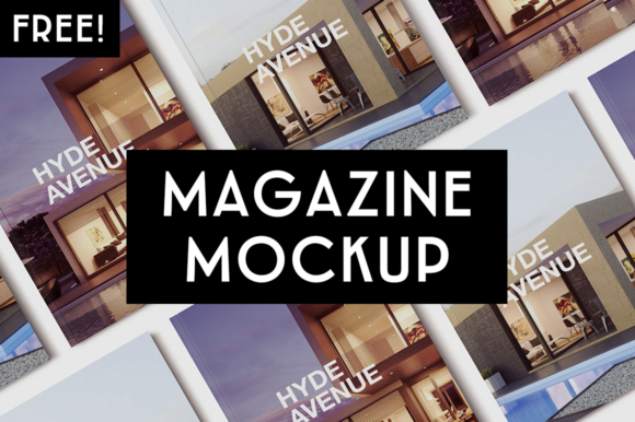 Magazine Mockup Graphic Print Templates By Creative Fabrica Freebies