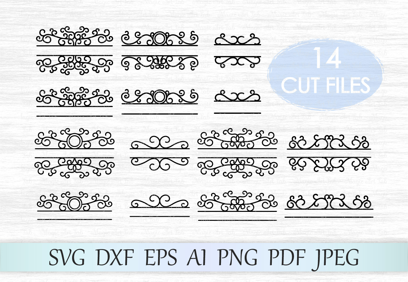 Download Free Mailbox Monograms Graphic By Magicartlab Creative Fabrica for Cricut Explore, Silhouette and other cutting machines.