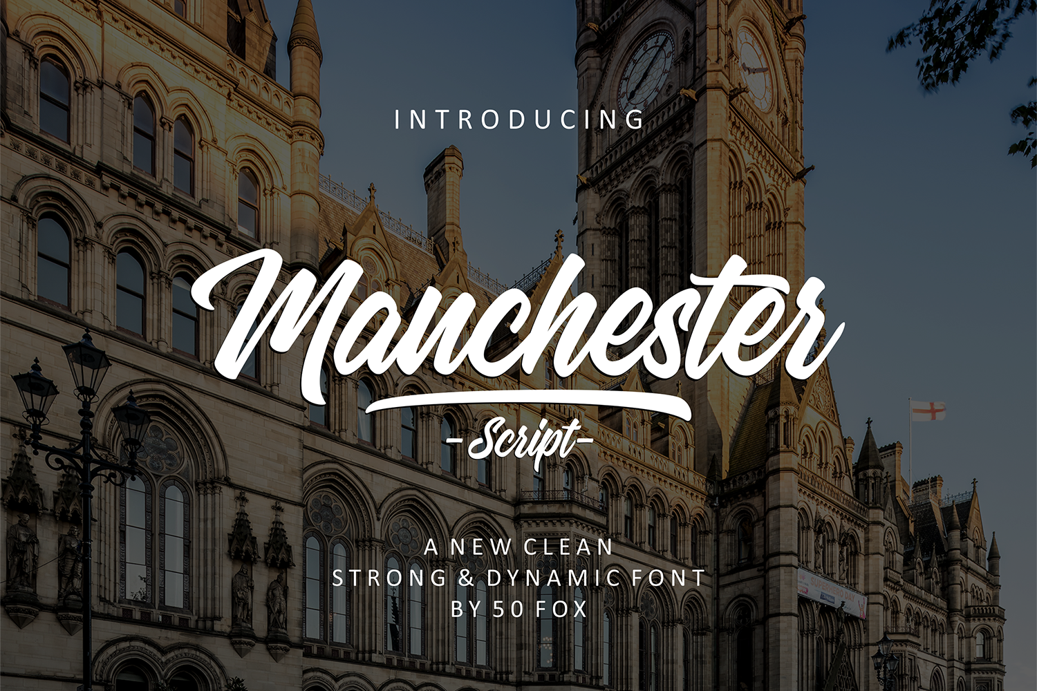 Print on Demand: Manchester Script & Handwritten Font By 50Fox