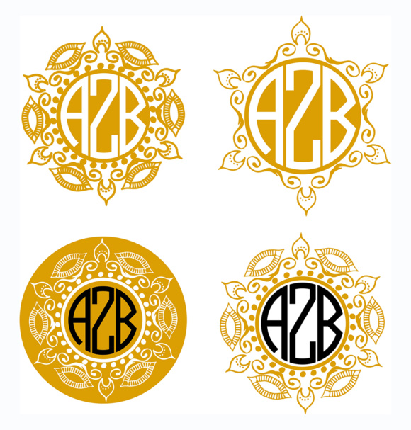 Download Free Mandala Monogram Mandala Frames Graphic By Vector City Skyline for Cricut Explore, Silhouette and other cutting machines.