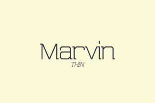 Marvin Thin Font By NREY