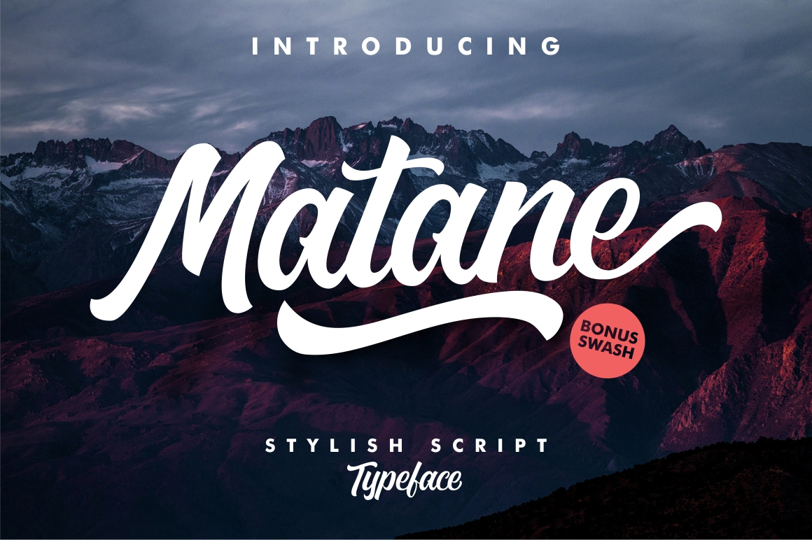 Print on Demand: Matane Script & Handwritten Font By YdhraStudio