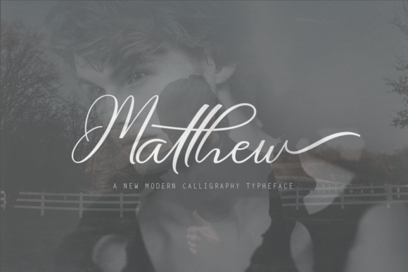 Print on Demand: Matthew Script & Handwritten Font By Ageless Type - Image 1
