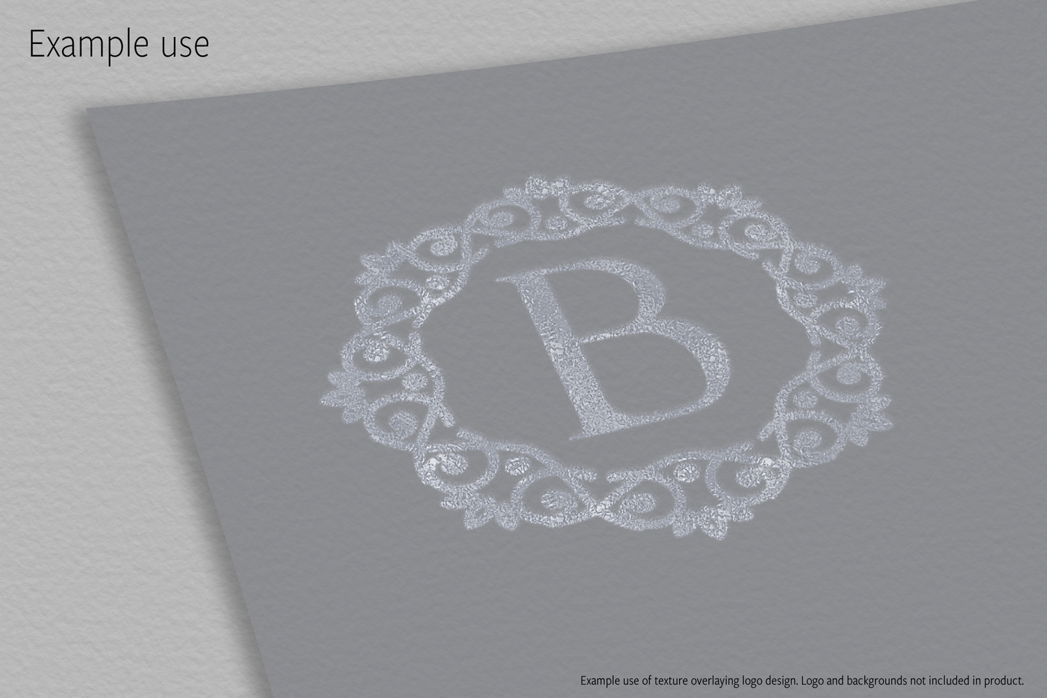 Print on Demand: Metallic Silver Textures Graphic Textures By JulieCampbellDesigns - Image 10