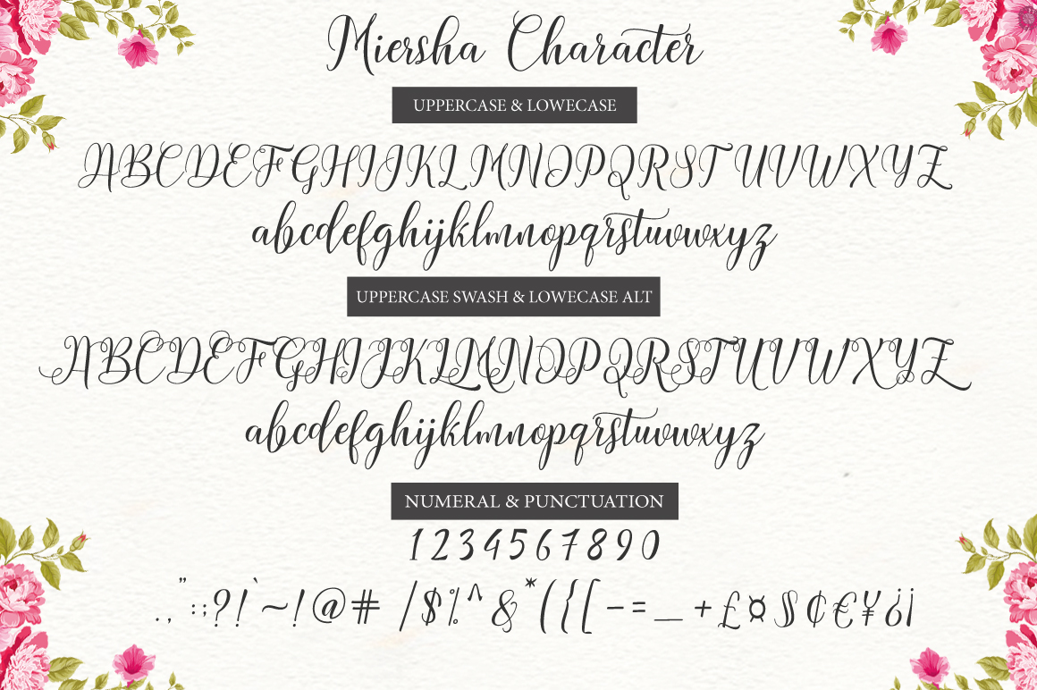 Miersha Font By Cooldesignlab Image 6