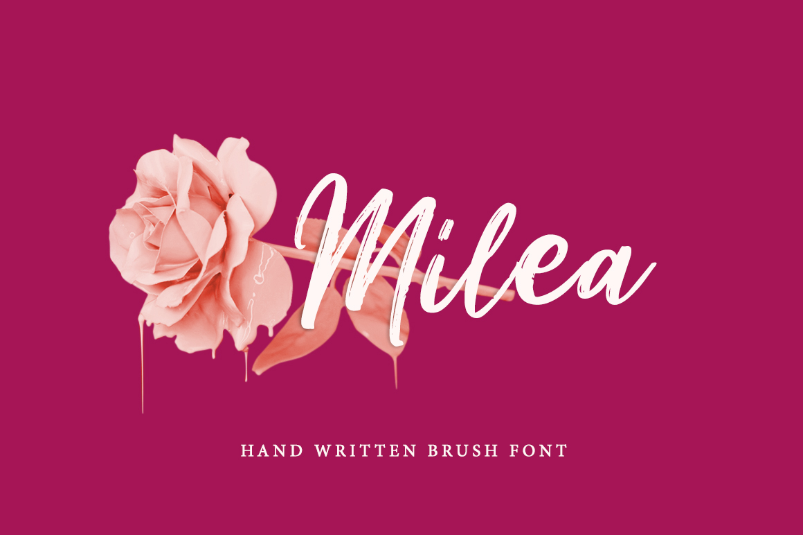 Milea Font By Weape Design