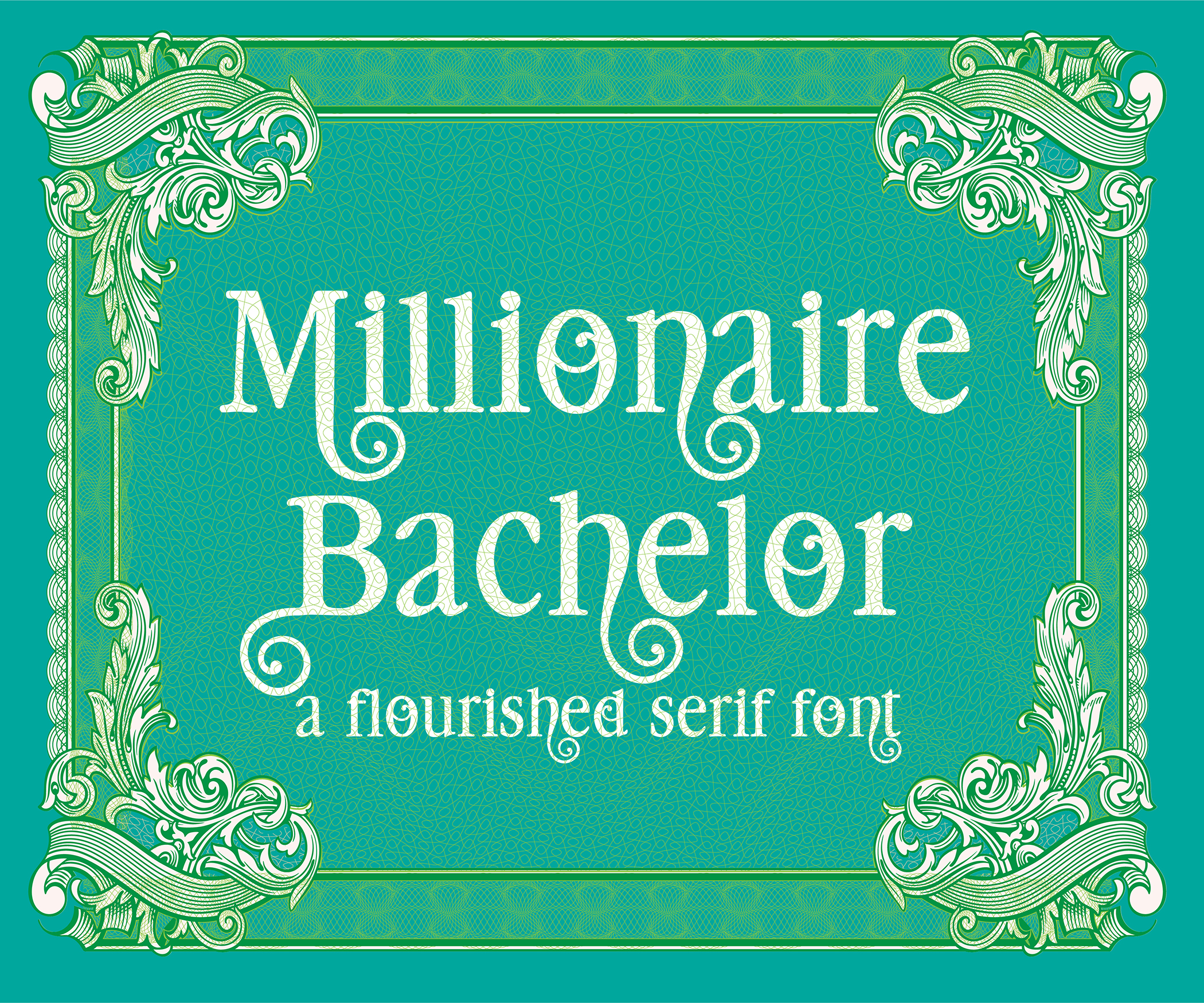 Print on Demand: Millionaire Bachelor Serif Font By Illustration Ink - Image 1