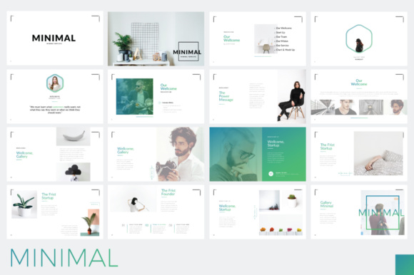 Minimal Minimalist Powerpoint Graphic By Moovied Co. Image 4