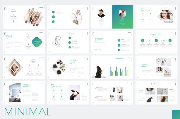 Minimal Minimalist Powerpoint Graphic By Moovied Co. Image 5