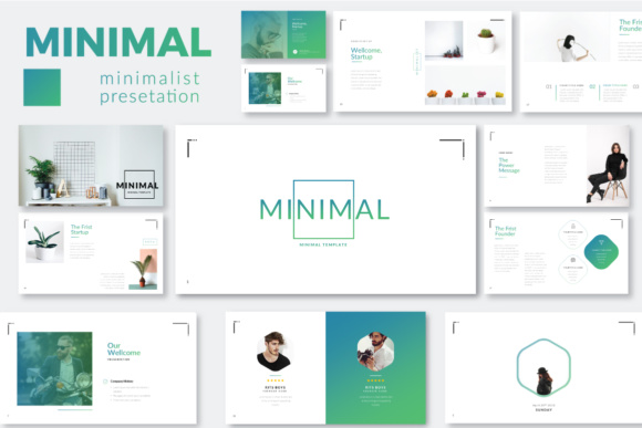 Minimal Minimalist Powerpoint Graphic By Moovied Co. Image 1