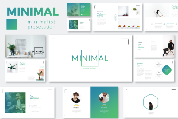Minimal Minimalist Powerpoint Graphic By Moovied Co. Image 3