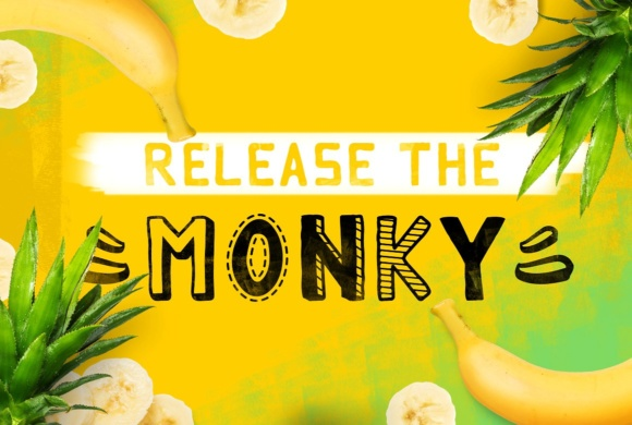 Print on Demand: Monky Display Font By brandsparkdesigns