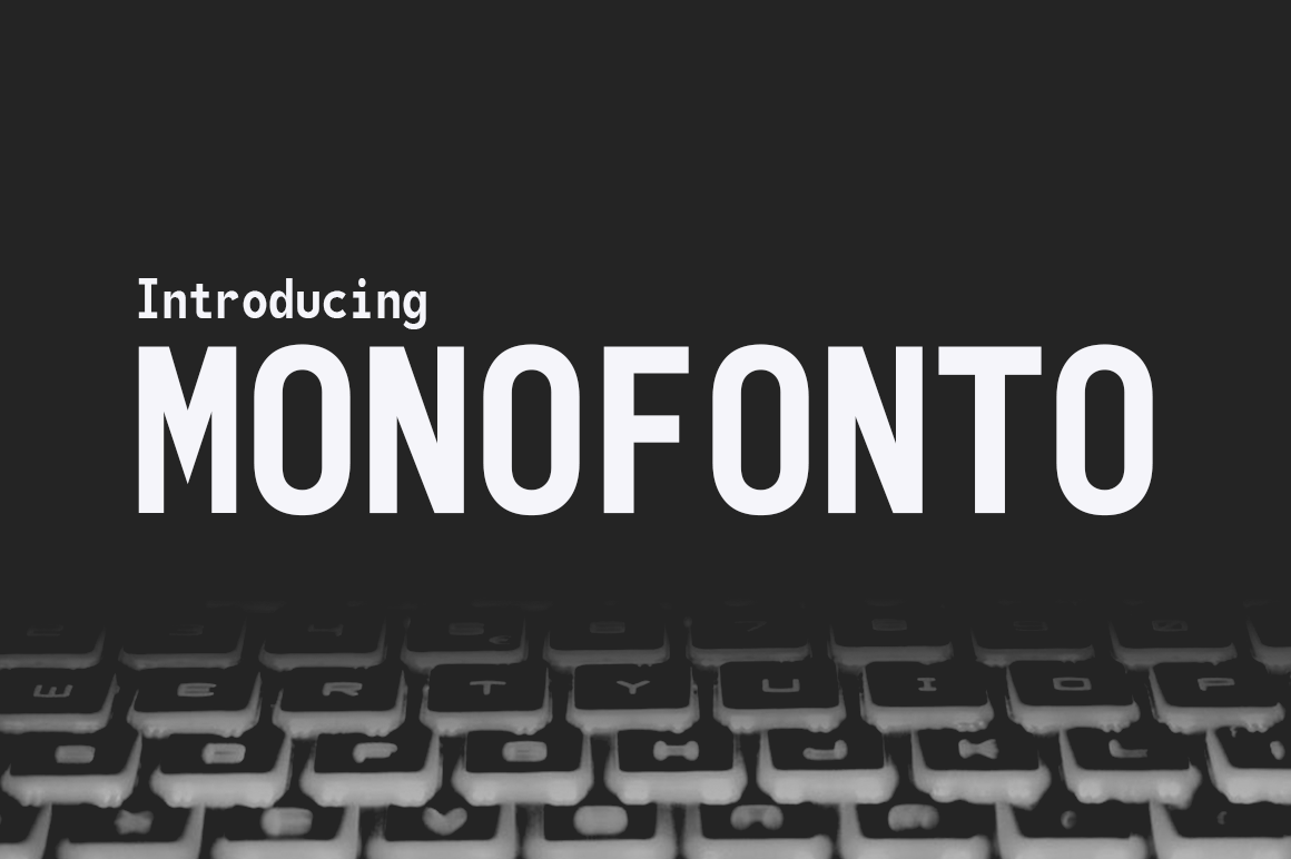 Print on Demand: Monofonto Sans Serif Font By Typodermic