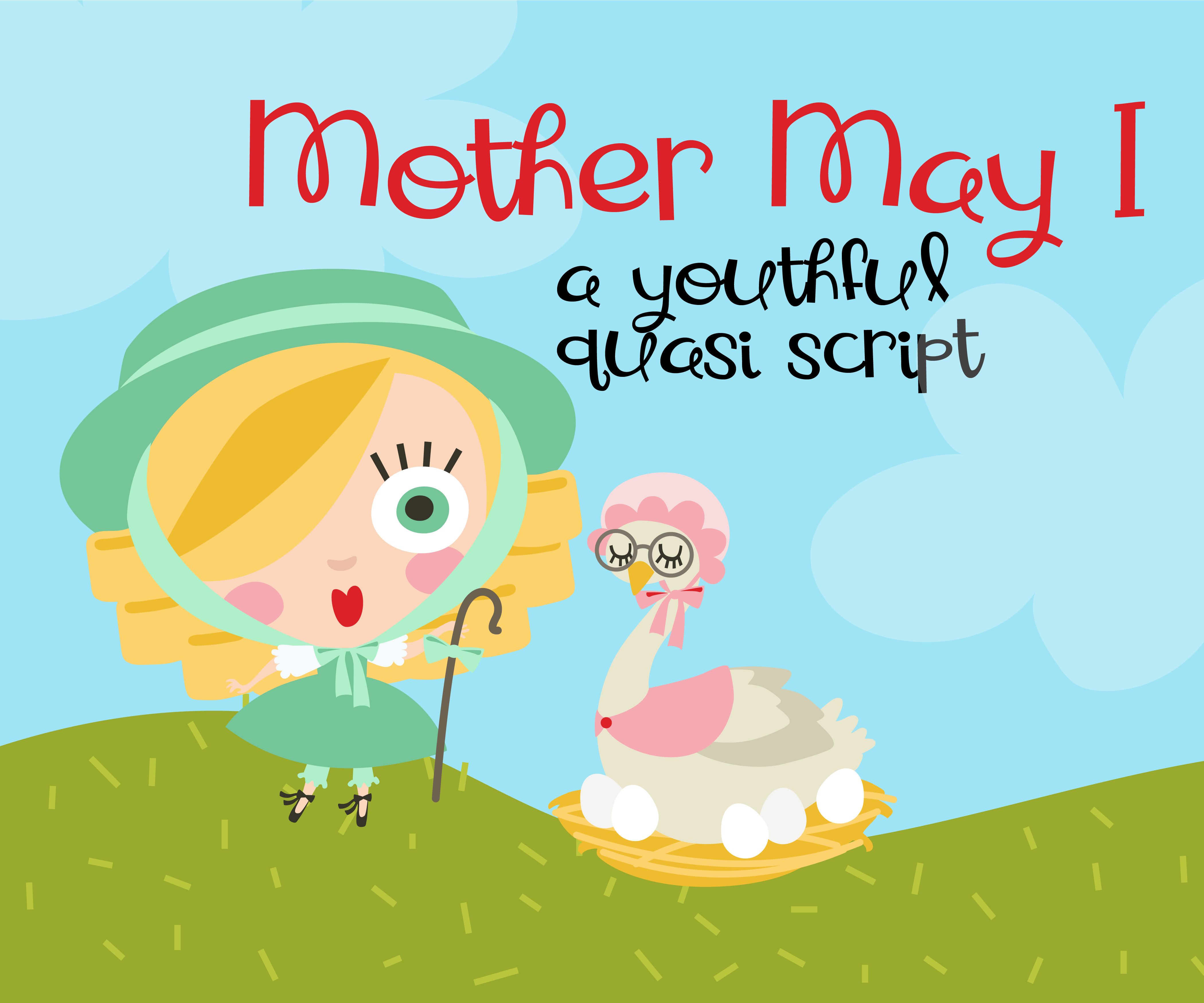 Print on Demand: Mother May I Script & Handwritten Font By Illustration Ink