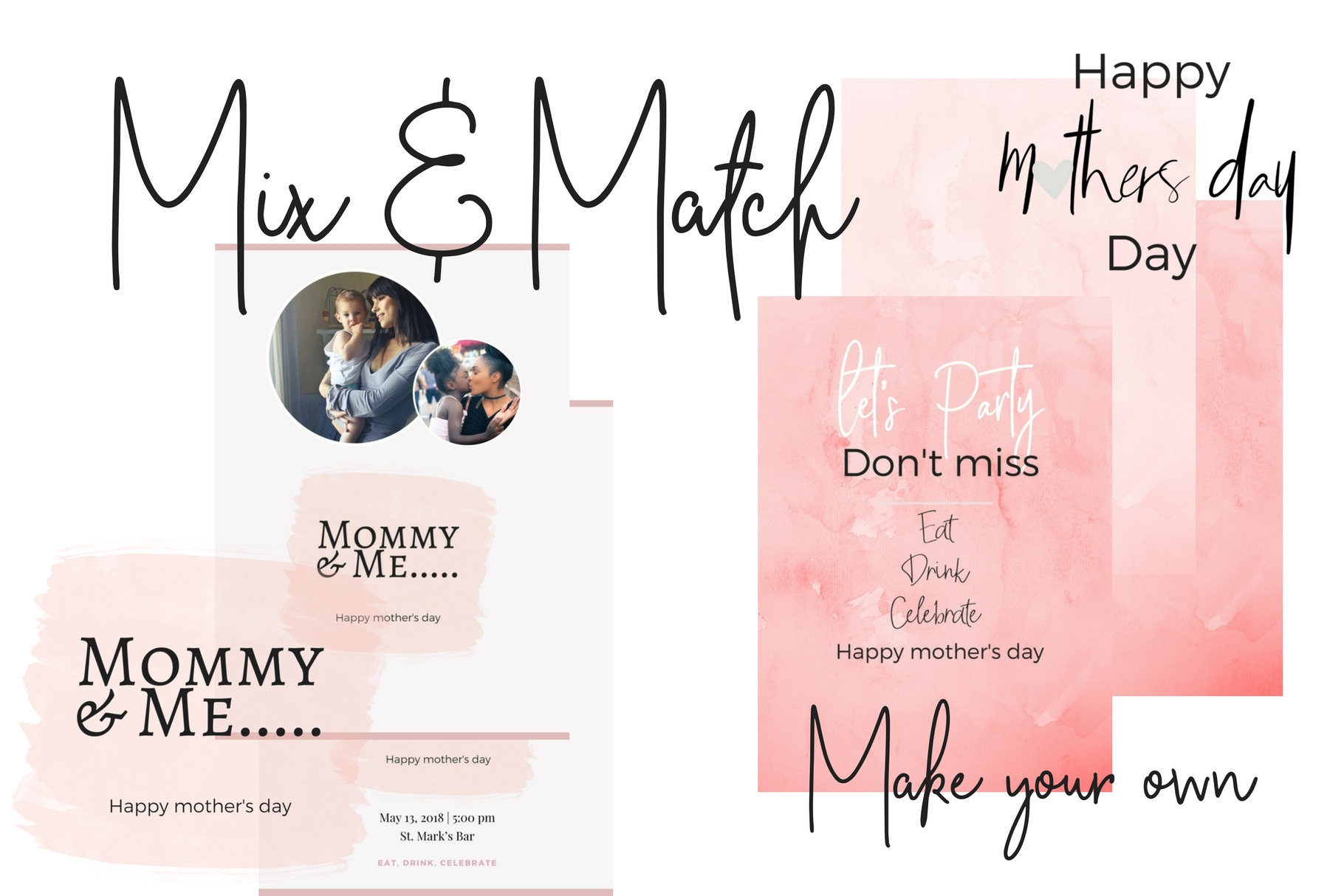 Mother's Day Lettering Graphic Web Elements By Creative Stash - Image 2