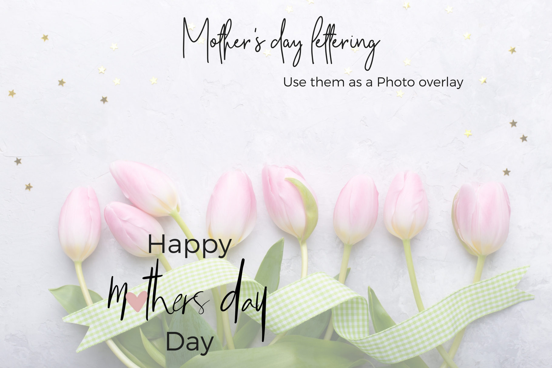 Mother's Day Lettering Graphic Web Elements By Creative Stash - Image 3
