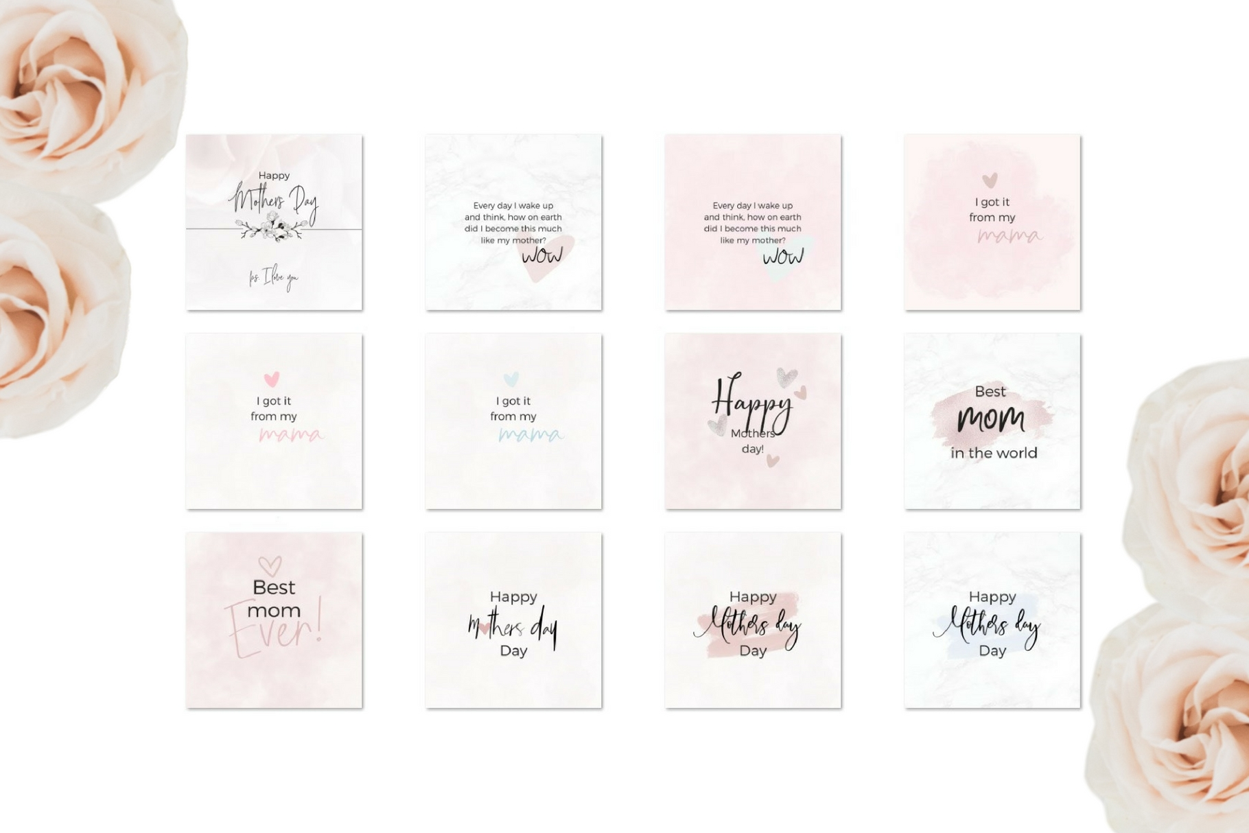Mother's Day Lettering Graphic Web Elements By Creative Stash - Image 7