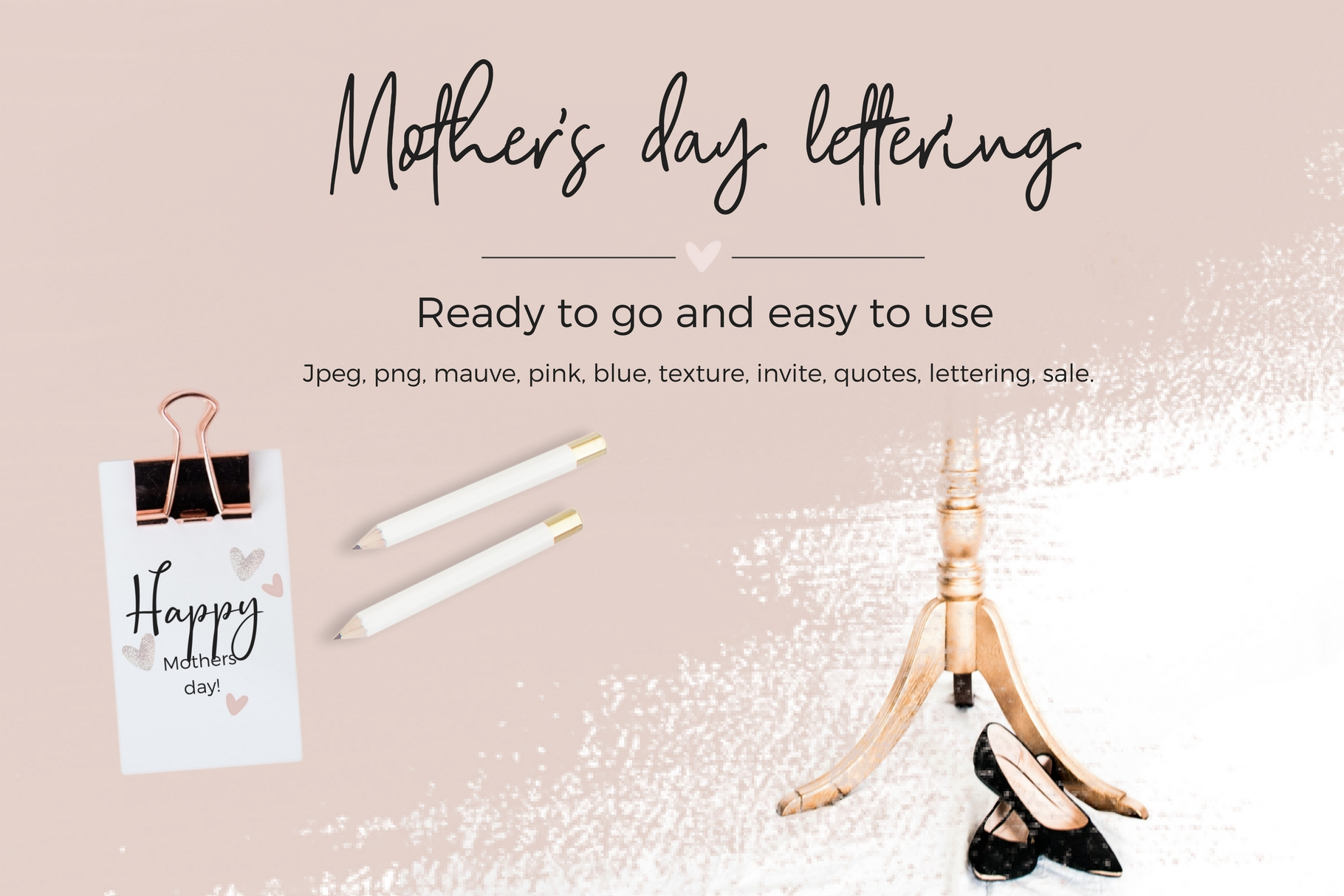 Mother's Day Lettering Graphic Web Elements By Creative Stash - Image 10