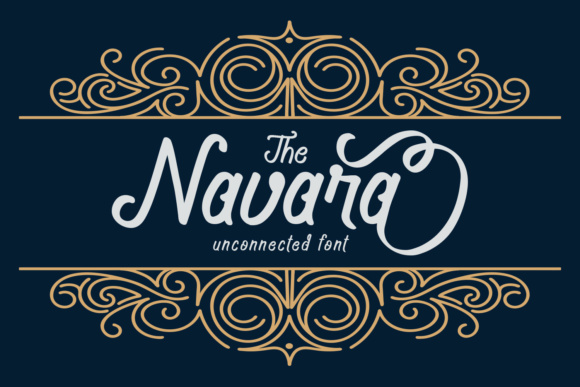 Print on Demand: Navara Script & Handwritten Font By josgandos