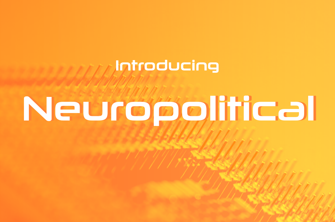 Neuropolitical Sans Serif Font By Typodermic