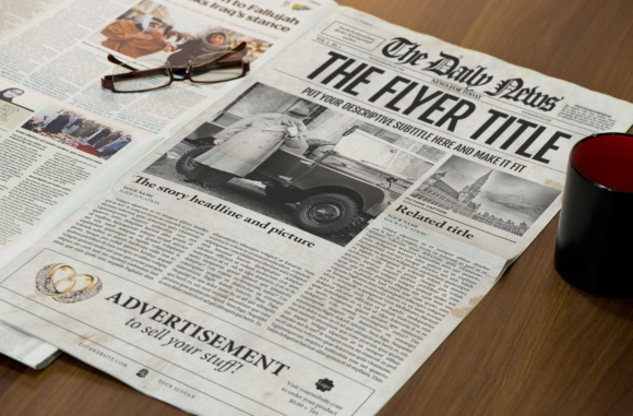 Newspaper Template InDesign Graphic By Newspaper Templates