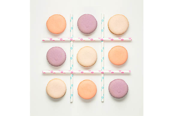 Noughts and Crosses Graphic Food & Drinks By Sasha_Brazhnik