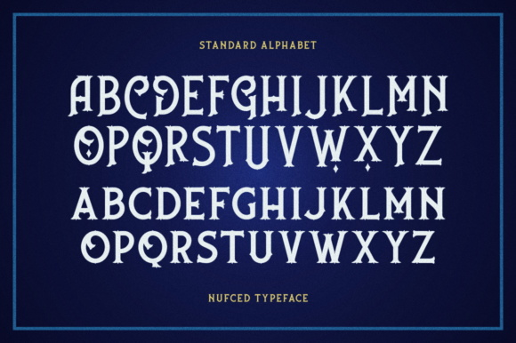 Print on Demand: Nufced Display Font By Fontdation - Image 5