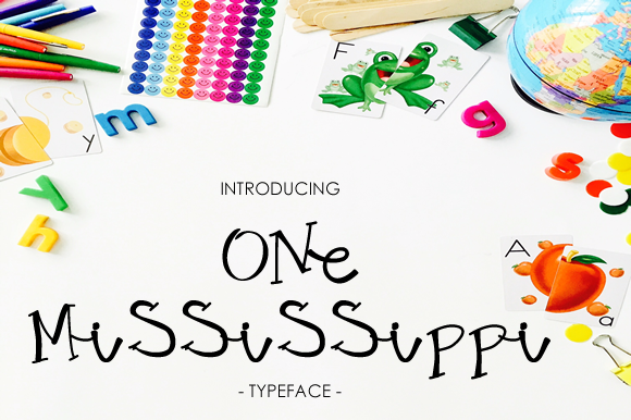 Print on Demand: One Mississippi Script & Handwritten Font By yh.seaofknowledge