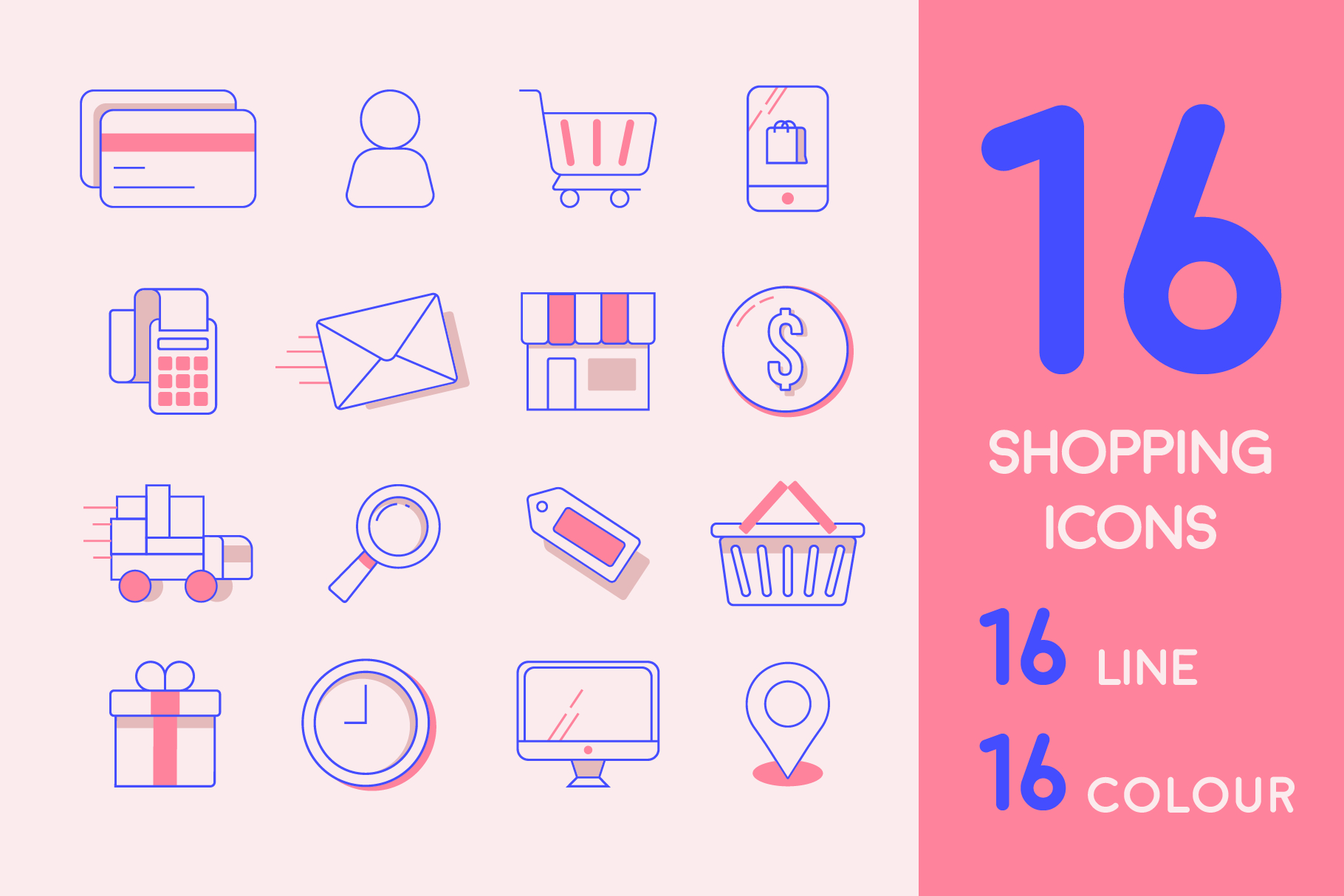 Online Shopping Icon Pack Graphic Icons By Mike Hill