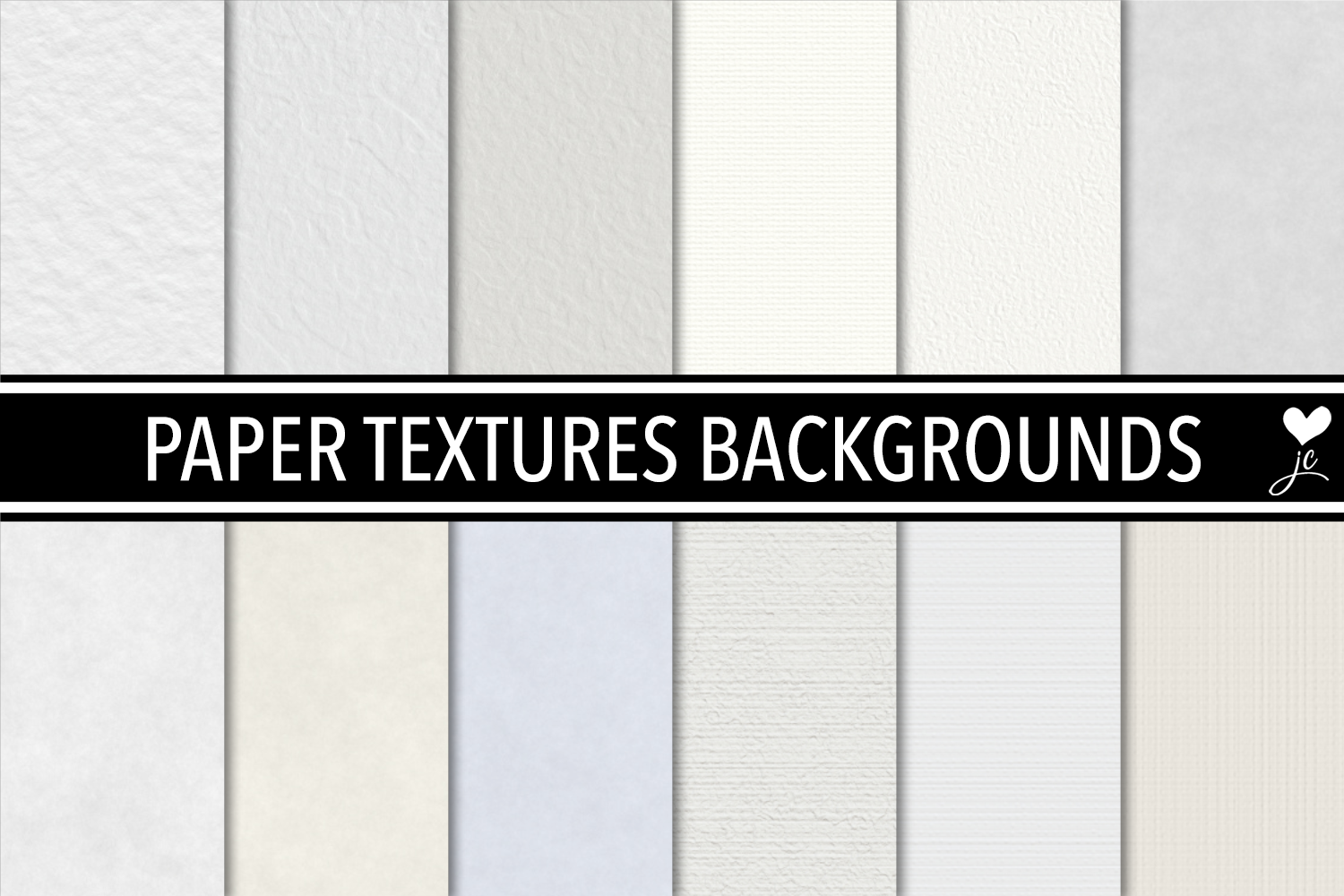 Print on Demand: Paper Textures Backgrounds Graphic Textures By JulieCampbellDesigns