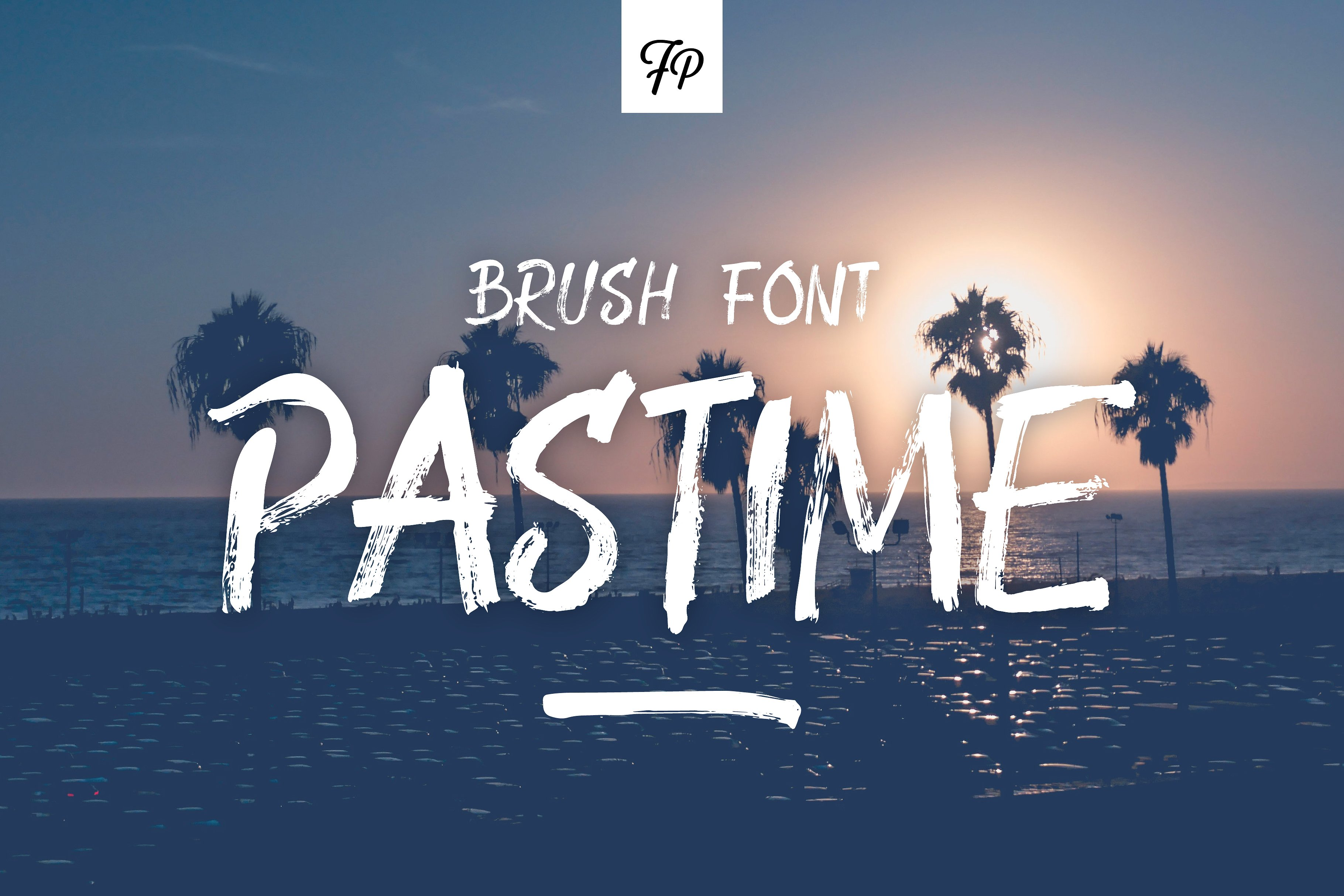 Print on Demand: Pastime Script & Handwritten Font By Fresh Pressed Fonts