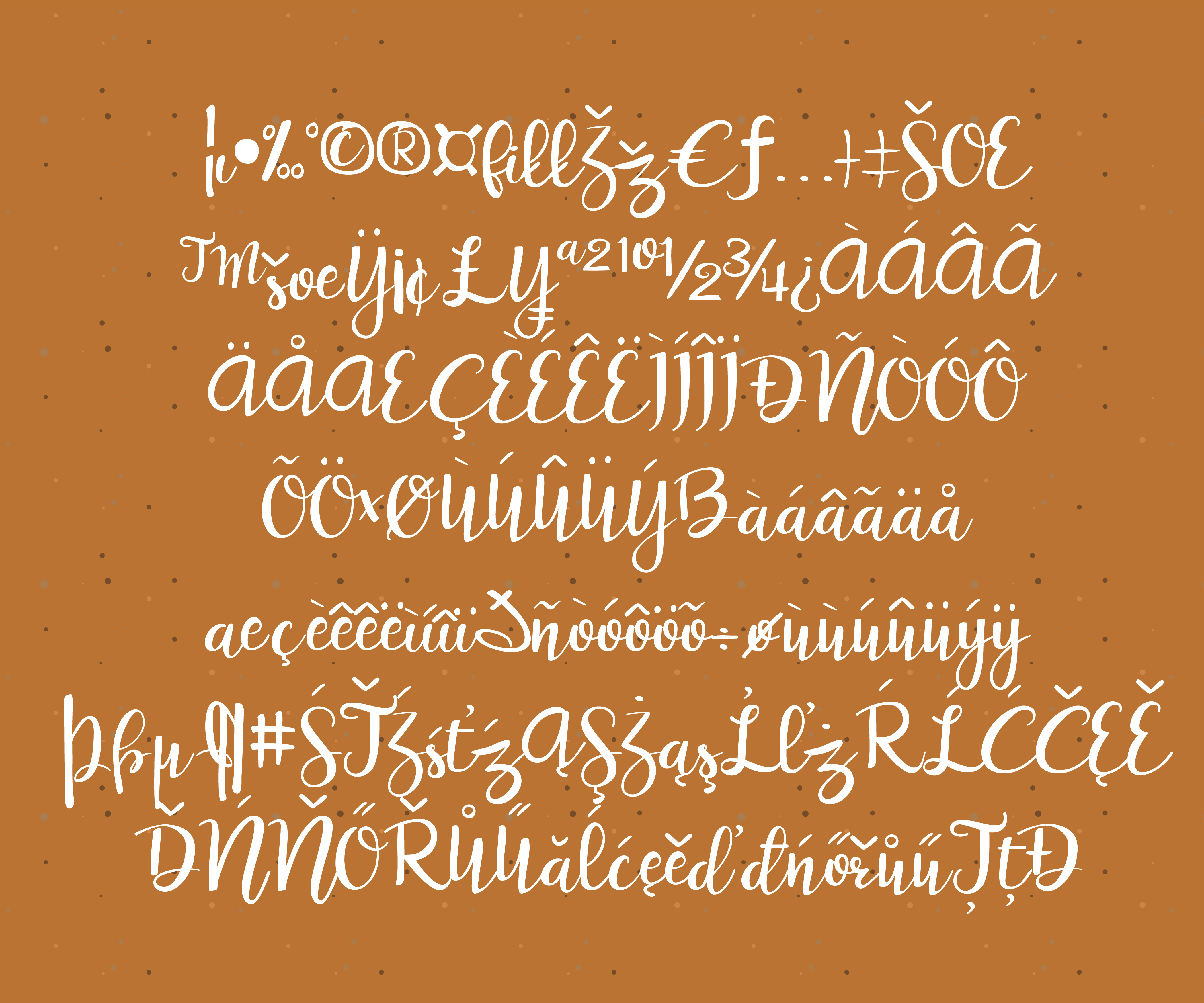 Print on Demand: Peanut Butter and Honey Script & Handwritten Font By Illustration Ink - Image 3
