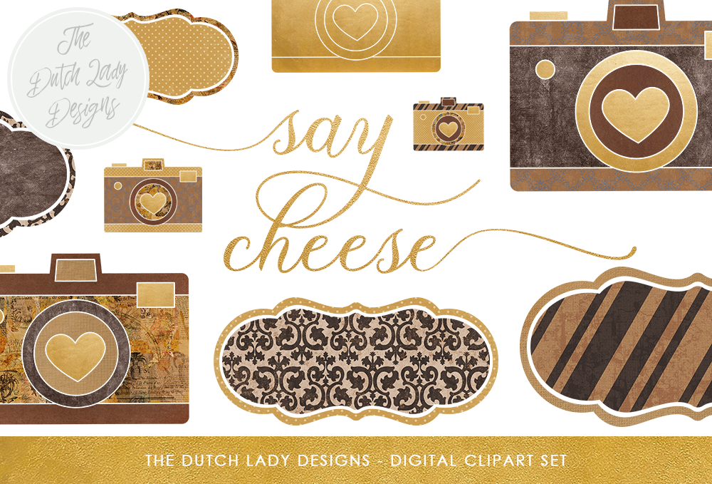 Download Free Photography Clipart Set Photo Cameras Labels Vintage Style for Cricut Explore, Silhouette and other cutting machines.