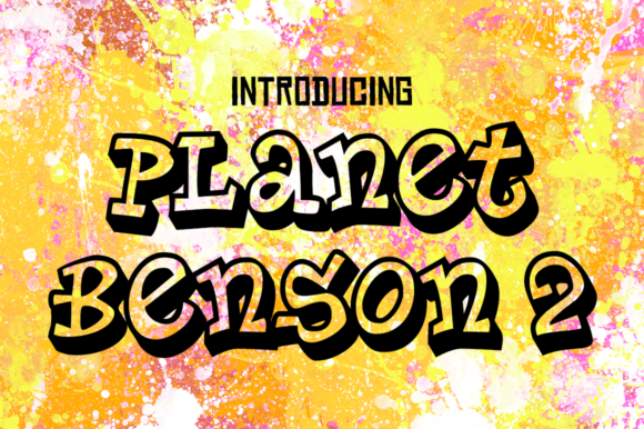 Print on Demand: Planet Benson 2 Script & Handwritten Font By Typodermic