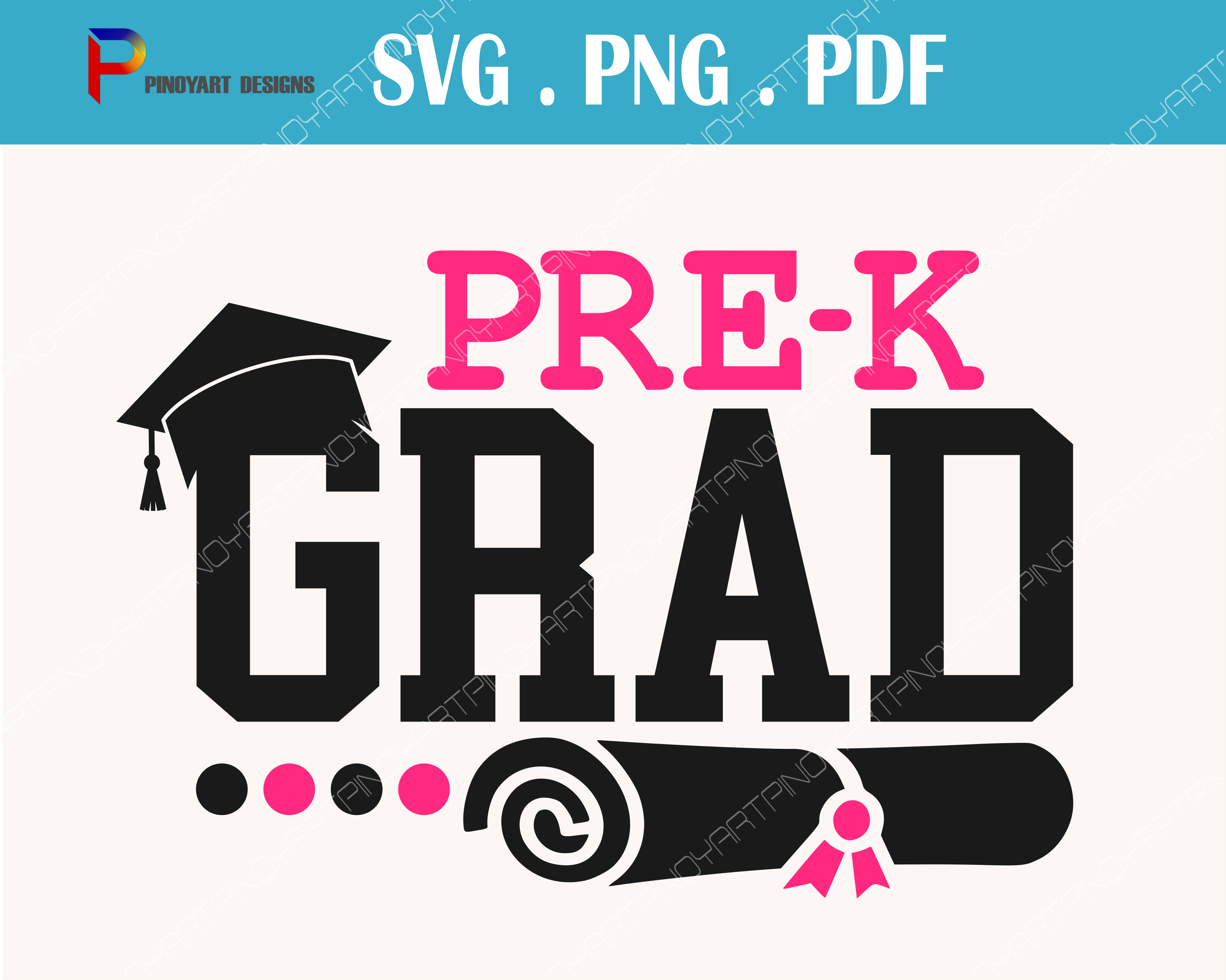 Pre-k Grad Svg, Kindergarten Svg, Pre-kindergarten Svg, Grad Svg, Graduation Svg, Svg, Svg Files for Cricut Graphic Crafts By Pinoyartkreatib